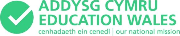 Addysg Cymru mission logo