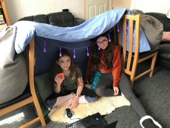 Technocamps Item 2 children in tent